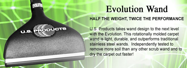 Evolution Carpet Cleaning Wand